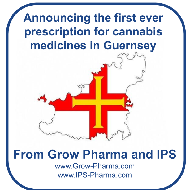 With partner IPS Pharma, we've dispensed the first ever medical cannabis prescription to a patient in Guernsey!